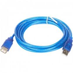 Кабель удлинительный USB2.0 AA 5м TELECOM