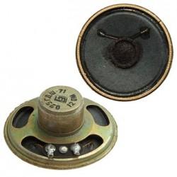 Динамик круглый,  d45мм, h17мм, 12ом, 0.25вт, 0.25ГДШ-71