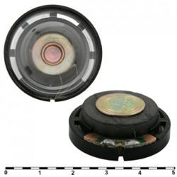 Динамик круглый,  d30мм, h10мм, 8ом, 0.25вт, FR-0002