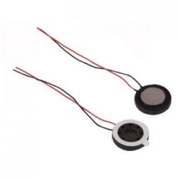 Динамик круглый,  d15мм, 8ом, 0.8вт, с проводами, S1590