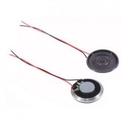 Динамик круглый,  d23мм, 8ом, 2вт, с проводами, S1400