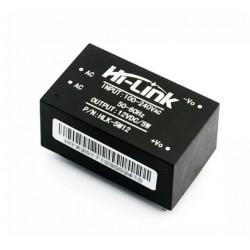 Блок питания на плату 12в, 0.42а, 38*23*18мм, Hi-Link HLK-5M12