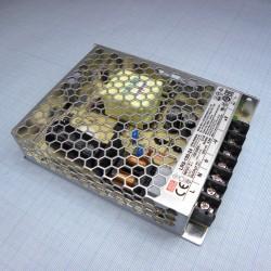 Блок питания в корпусе 24в,  4.5а, IP20, 129*97*30мм, Mean Well LRS-100-24