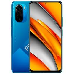 "Смартфон POCO F3 6/128Gb Deep Ocean Blue 2sim/6.67""/2400*1080/1*3.2+4*1.8+3*2.42ГГц/6Gb/128Gb/48+8+5Мп/NFC/And11/4520mAh"
