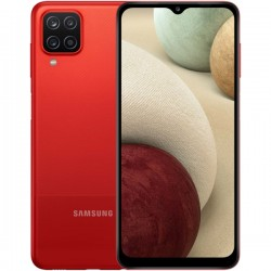 "Смартфон Samsung Galaxy A12 4/64Gb SM-A125F Красный 2sim/6.5""/1600*720/8х2.3ГГц/4Gb/64Gb/mSD/48+5+2+2Мп/NFC/And10/5000mAh"