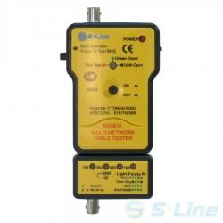 Тестер кабеля S-Line MS-6810