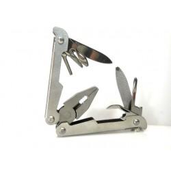 Набор складной S-Line PU5011, нож, пассатижи, отвертка ( 7в1)