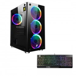 СБ Альдо Intel Премиум Xeon E5-2640(6/12*2.5-3.0)/8ГБ DDR3/1ТБ+SSD120ГБ/GTX1050Ti*4ГБ/без ПО/клавиатура MSI VIGOR GK30!!!
