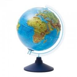 Глобус физико-политический, рельефн. Globen, 32см, интерактивный, с подсветкой INT13200291