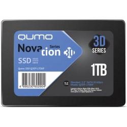 SSD-накопитель 1Тб Qumo Novation [Q3DT-1TSKF](SM2259XT,TLC 3D NAND,560/520 Мб/с)
