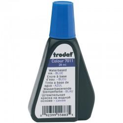 Штемпельная краска 28мл. TRODAT 7011с синяя