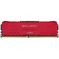 Оперативная память Crucial Ballsitix Red DIMM DDR4 8Гб(3200МГц, CL16, BL8G32C16U4R)