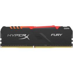 Оперативная память Kingston HyperX FURY RGB DIMM DDR4 16Гб(3000МГц, CL16, HX430C16FB4A/16)
