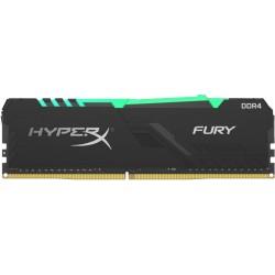 Оперативная память Kingston HyperX FURY RGB DIMM DDR4 8Гб(3733МГц, CL19, HX437C19FB3A/8)
