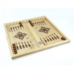 Игра настольная нарды Десятое королевство деревянные, 40*40см (2842)
