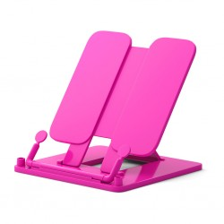 Подставка для книг ErichKrause Neon Solid, розовый (53528)