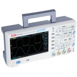 """Осциллограф Uni-T UPO2102CS, 2-к, 100МГц, 1ГВ/с, 8"""" 800*480, USB, LAN"""