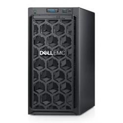DELL PowerEdge T140 4LFF Cabled / 1xE-2234/ 1x8GB UDIMM/ H330 / 1x4TB NLSAS 7.2k/ 2xGE/ 365W/ iDRAC Express/ 3YBWNBD/ DVD-RW