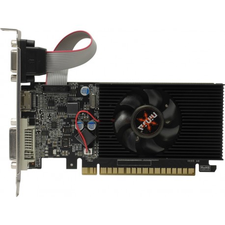 Видеокарта Sinotex GeForce GT610 Ninja (2Гб, DDR3,64bit,DVI,HDMI,VGA NK61NP023F,ret)