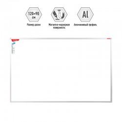 Доска магнитно-маркерная 90*120см. BERLINGO Premium (SDm 08030)