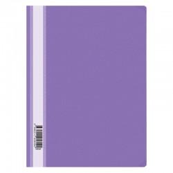 Скоросшиватель пластиковый А4 160мкм. Спейс с прозрачным верхом, фиолетовый (Fms16-6 719/ 162565)