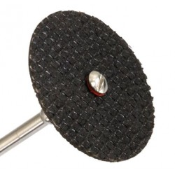 Отрезные диски для гравера (набор 10 штук + держатель) армированное стекловолокно s=1,4мм d=32мм