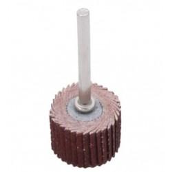 Набор лепестковых наждачных насадок для гравёра 10 штук ( P320 12*12мм с держателем)