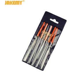 Надфили 140*3мм, алмазные, набор 5 штук, Jakemy JM-FL1-1