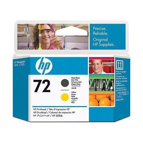 Головка печатающая HP C9384A (72) для DesignJet T610/ T1100, Black+Yellow