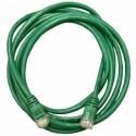 Патч-корд   5m кат 5E зеленый