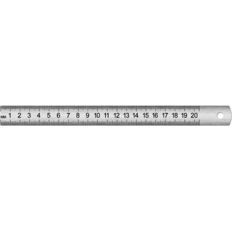 Линейка металлическая 20см. Спейс (ЛС-20-525) (162028)