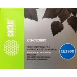 Картридж лазерный CACTUS CS-CE390XS для HP Enterprise600/M602n/M603n/M4555MFP черный (24000 стр)