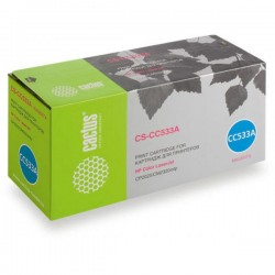 Картридж лазерный CACTUS CS-CC533A для HP Color LaserJet CP2025/CM2320mfp пурпурный (2800 стр)