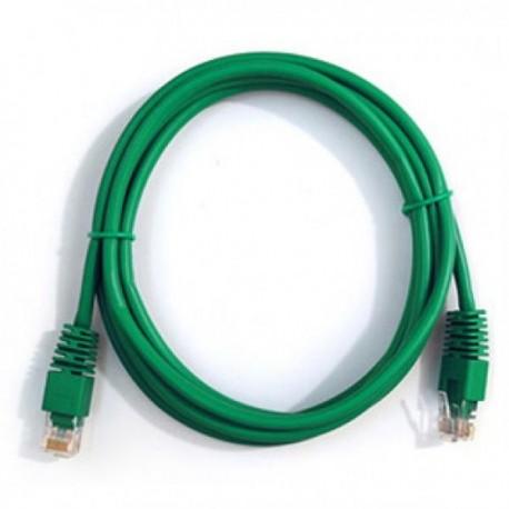 Патч-корд   1m  кат 5E UTP зеленый