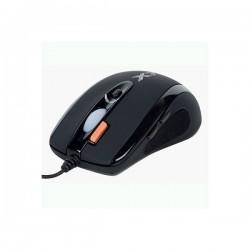Мышь USB A4Tech X-710BK оптическая, 2000dpi, кабель 1.8м, Black