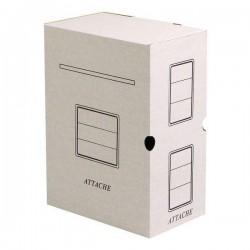 """Короб архивный вертикальный Спейс """"Standard"""" плотный, с завязками 264835"""