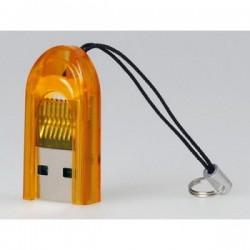 Картридер внешний Smartbuy SBR-710-O оранжевый для microSD