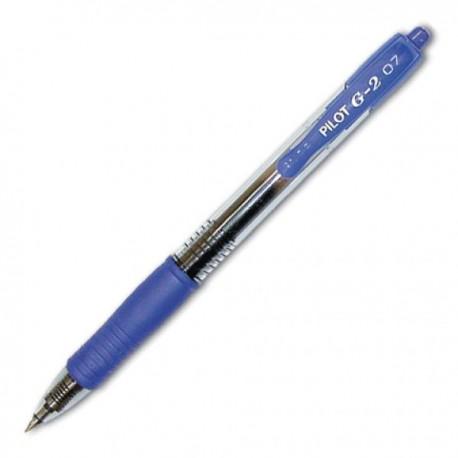 Ручка гелевая PILOT синяя (BL-G2-5)