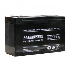 Аккумулятор ALFA BATTERY (ALARM FORCE) FB 12V, 7.2Ah