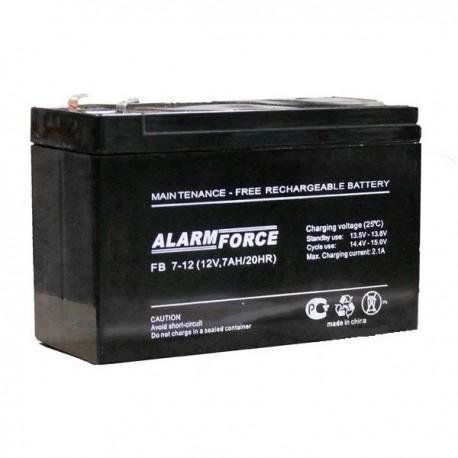 Аккумулятор ALFA BATTERY (ALARM FORCE) FB 12V, 7.2Ah