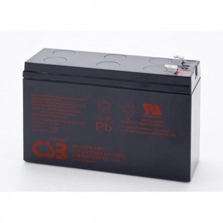 Аккумулятор CSB HR1224W,F2,F1,12V,5Ah (в94/д151/ш51)