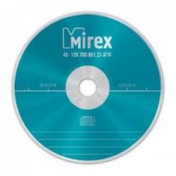 Диск CD-RW 10шт Mirex 700Mb 12x Cake Box (UL121002A8L)