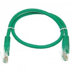 Патч-корд   0.5m кат 5E UTP зеленый