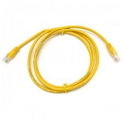 Патч-корд   1.5m  кат 5E UTP желтый
