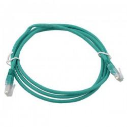 Патч-корд   1.5m  кат 5E UTP зеленый