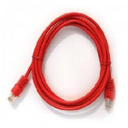 Патч-корд   1.5m  кат 5E UTP красный