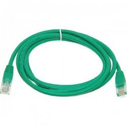 Патч-корд   2m  кат 5E UTP зеленый