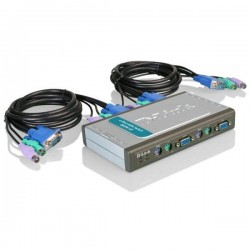 Переключатель KVM D-Link DKVM-4K 4-port PS/2 VGA