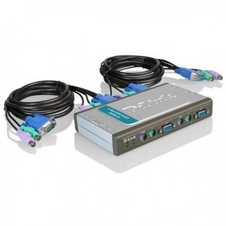 Переключатель KVM D-Link DKVM-4K 4-port PS/2 VGA