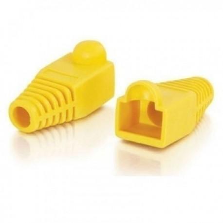 Колпачок для коннектора RJ-45 желтый 1шт